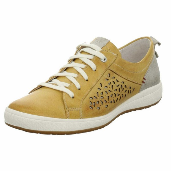 Josef Seibel Caren Damen Sneaker 67706134/801 Gelb