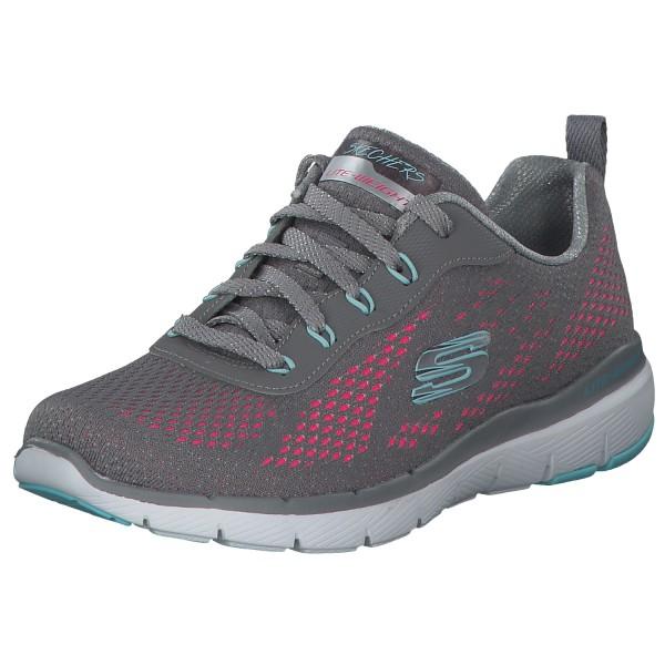 Skechers Flex Appeal 13475 GYHP Grau/Pink